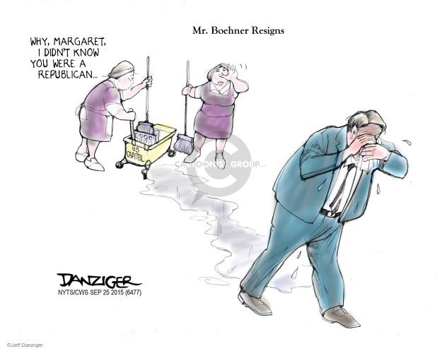 Jeff Danziger  Jeff Danziger's Editorial Cartoons 2015-09-25 capitol