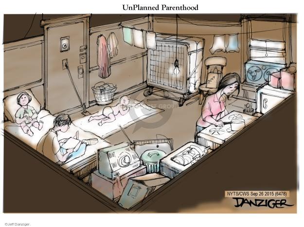 Cartoonist Jeff Danziger  Jeff Danziger's Editorial Cartoons 2015-09-26 baby