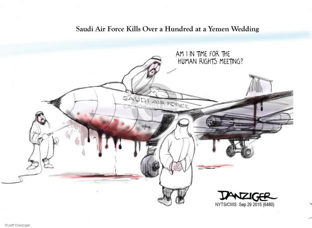 Cartoonist Jeff Danziger  Jeff Danziger's Editorial Cartoons 2015-09-29 party