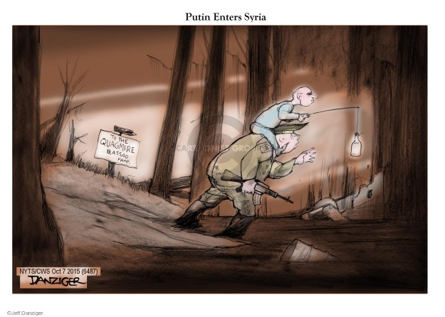 Cartoonist Jeff Danziger  Jeff Danziger's Editorial Cartoons 2015-10-07 al-Assad