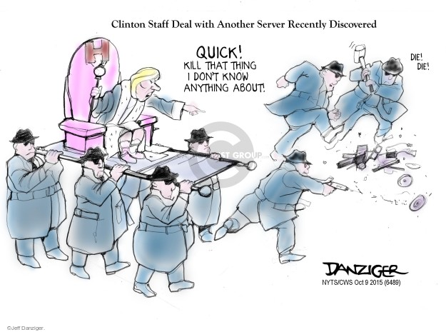 Cartoonist Jeff Danziger  Jeff Danziger's Editorial Cartoons 2015-10-09 editorial staff