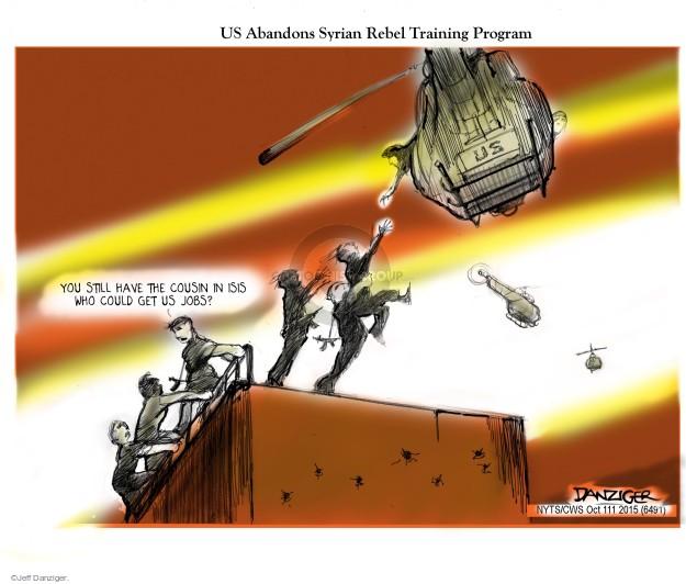 Jeff Danziger  Jeff Danziger's Editorial Cartoons 2015-10-11 military strategy