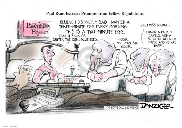 Jeff Danziger  Jeff Danziger's Editorial Cartoons 2015-10-22 Chuck