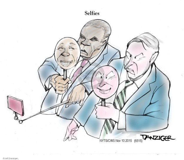 Cartoonist Jeff Danziger  Jeff Danziger's Editorial Cartoons 2015-11-10 United States