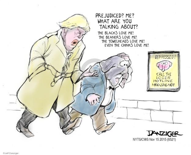 Cartoonist Jeff Danziger  Jeff Danziger's Editorial Cartoons 2015-11-15 African