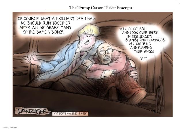 Cartoonist Jeff Danziger  Jeff Danziger's Editorial Cartoons 2015-11-24 campaign