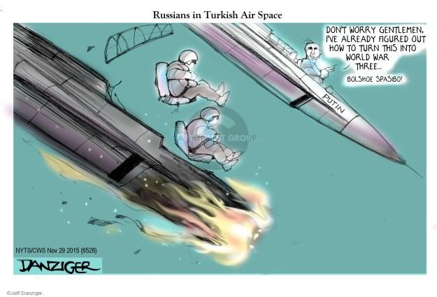 Cartoonist Jeff Danziger  Jeff Danziger's Editorial Cartoons 2015-11-29 pilot