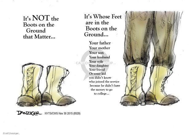 Cartoonist Jeff Danziger  Jeff Danziger's Editorial Cartoons 2015-11-30 college education