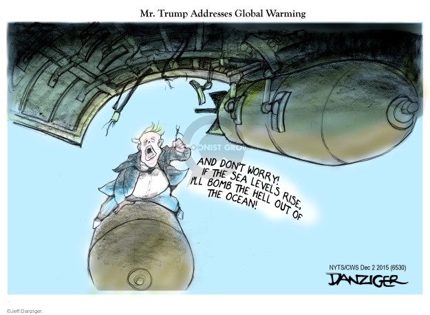 Cartoonist Jeff Danziger  Jeff Danziger's Editorial Cartoons 2015-12-02 bomb