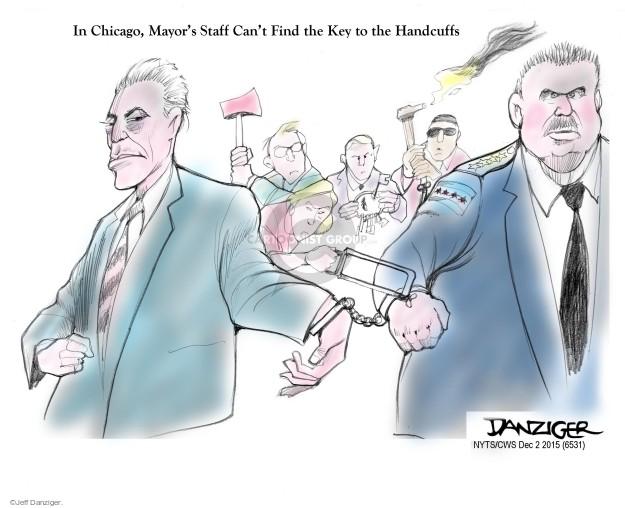Cartoonist Jeff Danziger  Jeff Danziger's Editorial Cartoons 2015-12-02 mayor