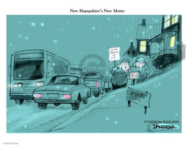 Cartoonist Jeff Danziger  Jeff Danziger's Editorial Cartoons 2015-12-08 campaign