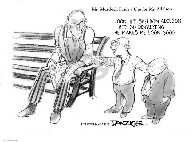 Cartoonist Jeff Danziger  Jeff Danziger's Editorial Cartoons 2015-12-27 conservative media