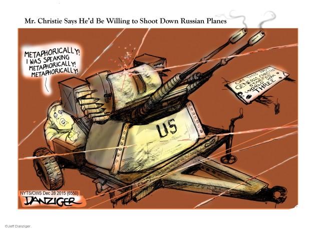 Cartoonist Jeff Danziger  Jeff Danziger's Editorial Cartoons 2015-12-28 campaign