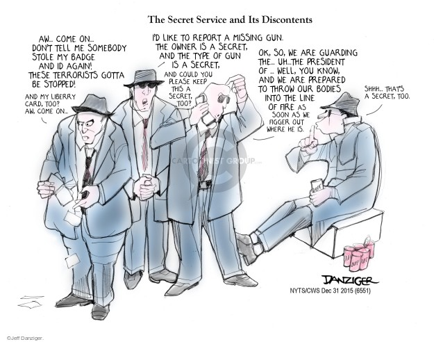 Cartoonist Jeff Danziger  Jeff Danziger's Editorial Cartoons 2015-12-31 throw