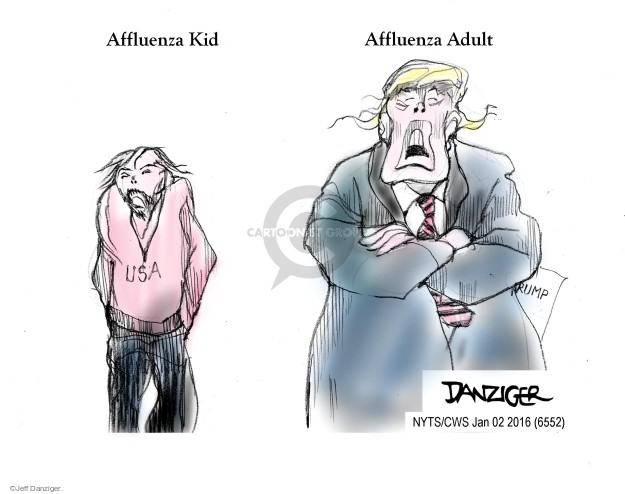Cartoonist Jeff Danziger  Jeff Danziger's Editorial Cartoons 2016-01-02 United States