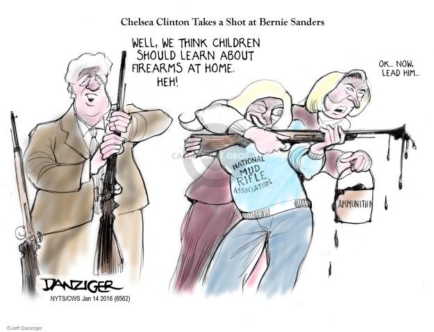 Cartoonist Jeff Danziger  Jeff Danziger's Editorial Cartoons 2016-01-14 gun control