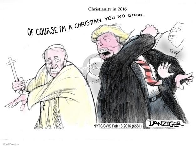 Cartoonist Jeff Danziger  Jeff Danziger's Editorial Cartoons 2016-02-18 editorial staff
