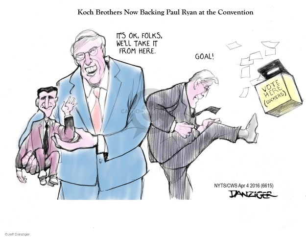 Jeff Danziger  Jeff Danziger's Editorial Cartoons 2016-04-04 republican convention