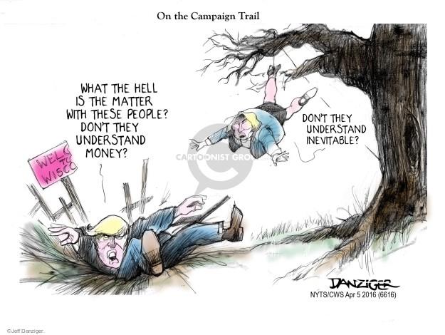 Jeff Danziger  Jeff Danziger's Editorial Cartoons 2016-04-05 campaign finance