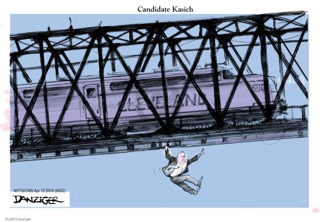 Candidate Kasich.  Cleveland. 2016.