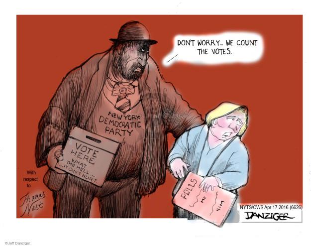 Jeff Danziger  Jeff Danziger's Editorial Cartoons 2016-04-17 ballot