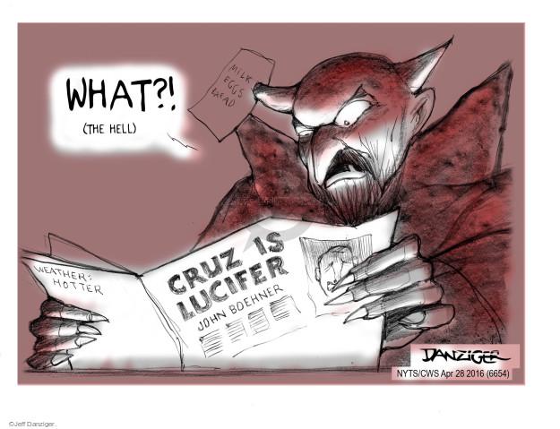 Jeff Danziger  Jeff Danziger's Editorial Cartoons 2016-04-28 shop