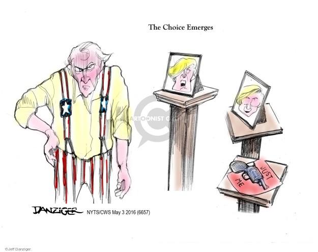 Jeff Danziger  Jeff Danziger's Editorial Cartoons 2016-05-04 Democratic voter