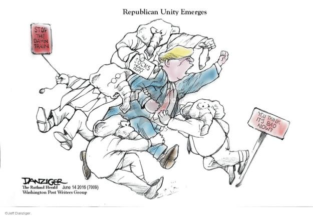 Cartoonist Jeff Danziger  Jeff Danziger's Editorial Cartoons 2016-06-14 duty