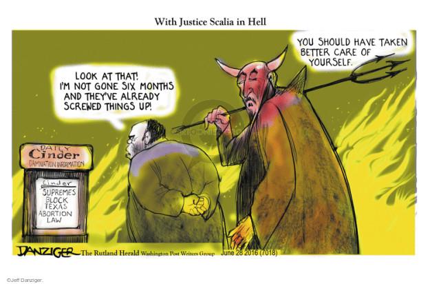 Cartoonist Jeff Danziger  Jeff Danziger's Editorial Cartoons 2016-06-28 opinion