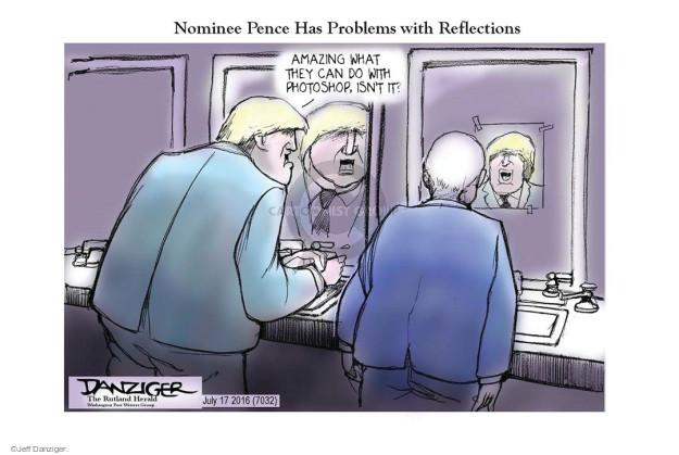 Cartoonist Jeff Danziger  Jeff Danziger's Editorial Cartoons 2016-07-18 isn't