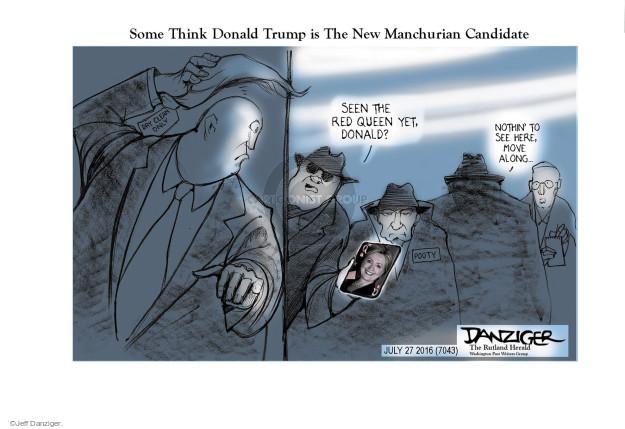 Jeff Danziger  Jeff Danziger's Editorial Cartoons 2016-07-27 yet