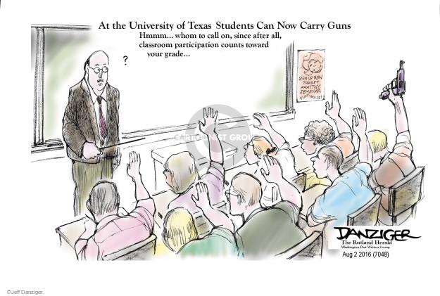 Jeff Danziger  Jeff Danziger's Editorial Cartoons 2016-08-03 sign