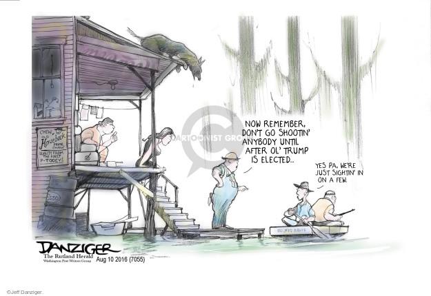 Jeff Danziger  Jeff Danziger's Editorial Cartoons 2016-08-10 civil liberty