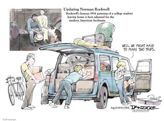 Jeff Danziger  Jeff Danziger's Editorial Cartoons 2016-08-25 eras