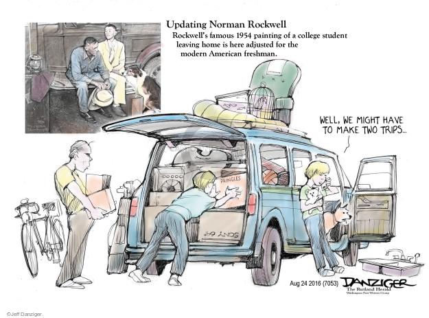 Jeff Danziger  Jeff Danziger's Editorial Cartoons 2016-08-25 1950s