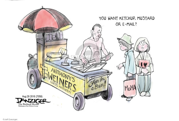 Cartoonist Jeff Danziger  Jeff Danziger's Editorial Cartoons 2016-08-30 congressman