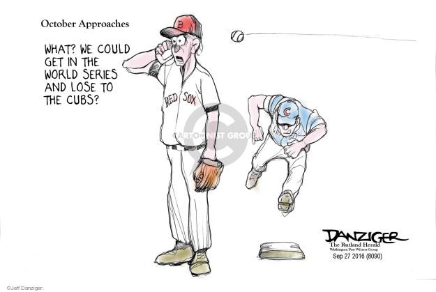 Cartoonist Jeff Danziger  Jeff Danziger's Editorial Cartoons 2016-09-28 sport