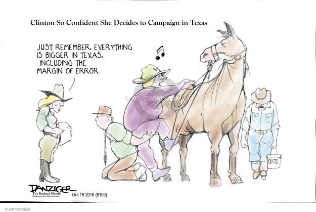 Jeff Danziger  Jeff Danziger's Editorial Cartoons 2016-10-19 just