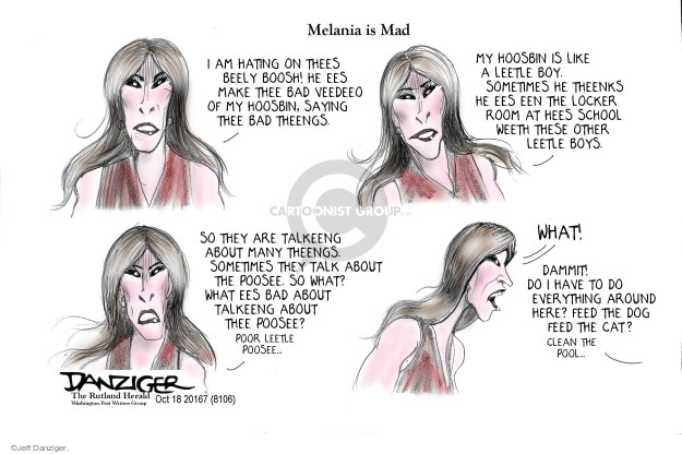 Cartoonist Jeff Danziger  Jeff Danziger's Editorial Cartoons 2016-10-20 gender