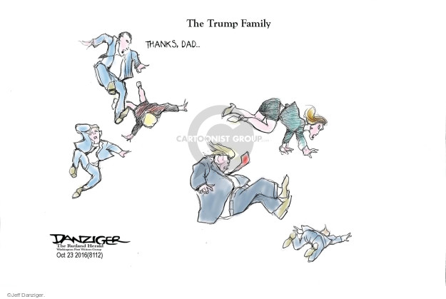 Jeff Danziger  Jeff Danziger's Editorial Cartoons 2016-10-23 son