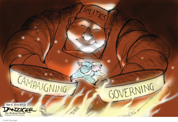 Jeff Danziger  Jeff Danziger's Editorial Cartoons 2016-11-08 nominee