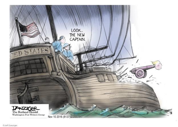 Cartoonist Jeff Danziger  Jeff Danziger's Editorial Cartoons 2016-11-10 United States