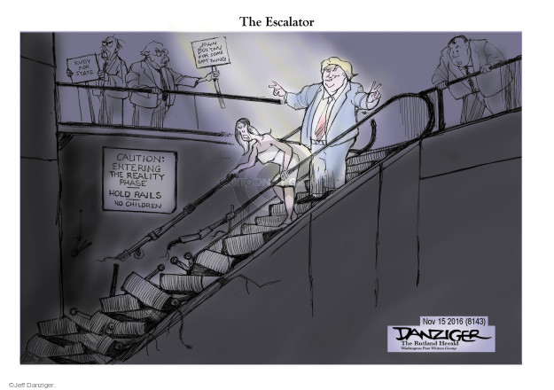 Jeff Danziger  Jeff Danziger's Editorial Cartoons 2016-11-16 Rudy Giuliani