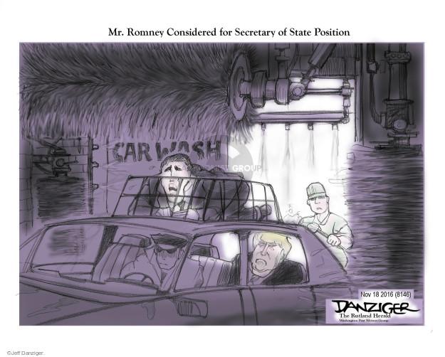 Jeff Danziger  Jeff Danziger's Editorial Cartoons 2016-11-19 Mitt Romney
