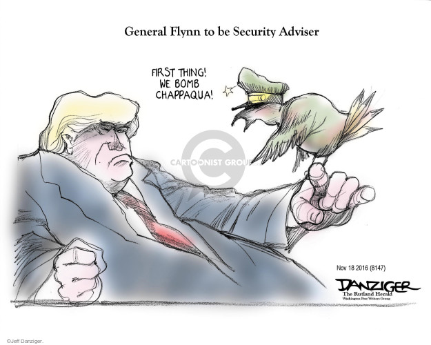 Cartoonist Jeff Danziger  Jeff Danziger's Editorial Cartoons 2016-11-20 bomb