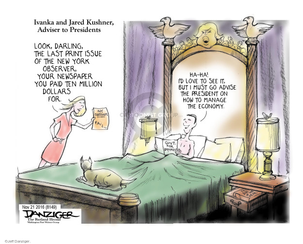Jeff Danziger  Jeff Danziger's Editorial Cartoons 2016-11-22 son