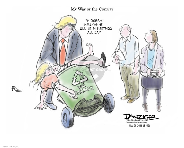 Cartoonist Jeff Danziger  Jeff Danziger's Editorial Cartoons 2016-12-01 campaign