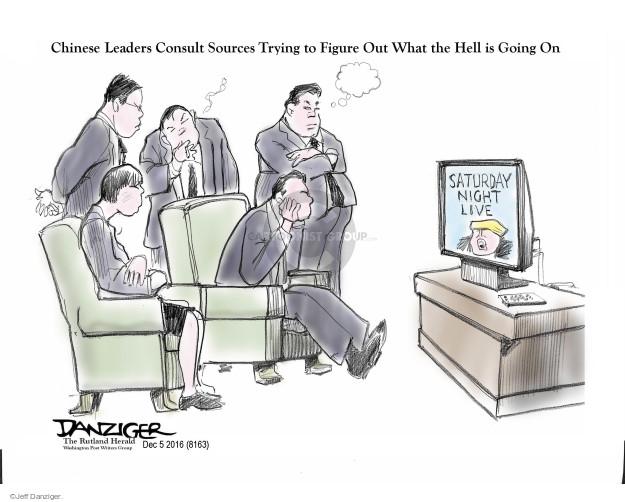 Jeff Danziger  Jeff Danziger's Editorial Cartoons 2016-12-07 chinese