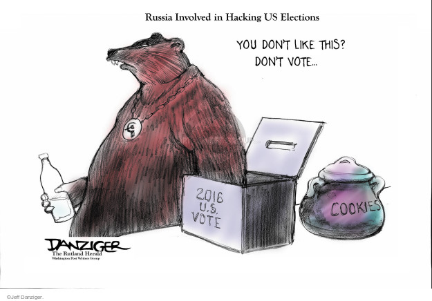 Cartoonist Jeff Danziger  Jeff Danziger's Editorial Cartoons 2016-12-14 CIA