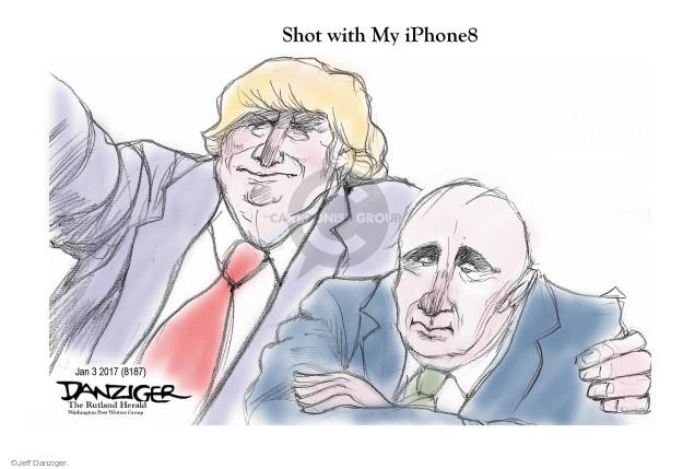 Cartoonist Jeff Danziger  Jeff Danziger's Editorial Cartoons 2017-01-07 president-elect